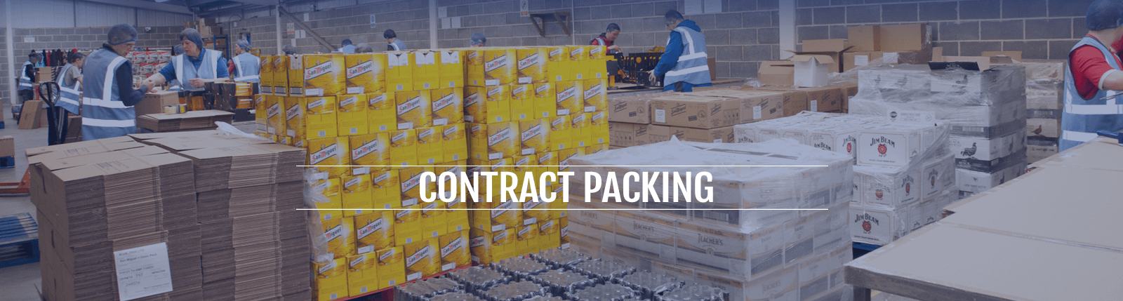 contract packing banner