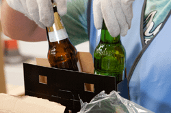 Contract Packing Bottles